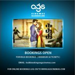 RT @ags_cinemas: Bookings & Bulk Bookings opens for Kaththi @ags_cinemas http://t.co/yxqGIEqTLA