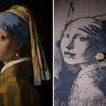 RT @YahooNewsUK: There's a new Banksy in Bristol based on 'Girl With A Pearl Earring'… but with one big difference: http://t.co/POiRiYtrjJ