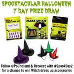 RT @Poundland: RT & Follow @Poundland + #SpookDay2 - enter to #win #Halloween dress up! 3 hrs left! t&c > http://t.co/0Bm02IhNTx http://t.co/yThhIN0KZp