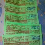 My Tickets For #Kaththi on Deepavali at Geethalaya Salem #MatineeShow http://t.co/HmArSFPyiK