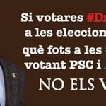 RT @amicsdelalletja: La gent q vol #dretadecidir i vol votar el #9N de #Lleida, q tinguin memòria el proper maig! http://t.co/BaxuubufYc