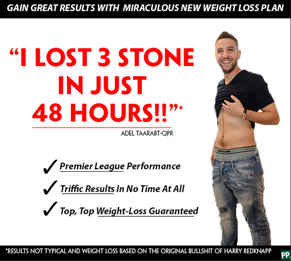 Are you looking to lose weight? try adel taraabt's diet ...
