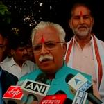 I am thankful to the unanimous vote my party workers gave me, and also to the people of Haryana: Manohar Lal Khattar http://t.co/e7f4zeiKTQ