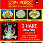 Grand Opening @wrk_paranormal 24OKT bagi2 INDOMIE&ROTI BAKAR GRATIS 1234porsi slm 3hr Jl.Purwakarta 79 Antapani http://t.co/bgKo2rr2kR