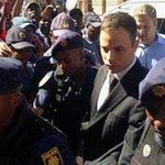 RT @UzaCoona: [NEWS]South African athlete Oscar Pistorius has been jailed for five years for killing his girlfriend Reeva Steenkamp http://t.co/AJ5Kgk9ZCx