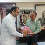 RT @MaheishGirri: Met Delhi Chief Secretary Shri Deepak Sapoliya in his office today to discuss various issues concerning East Delhi. http://t.co/hsXd9cnak6