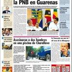 """""""Plan Desarme"""" avanza: """"Roban 54 pistolas a la PNB en Guarenas"""" ¡4TO ROBO DE ARMAS A LA PNB ESTE AÑO! Diario La Voz http://t.co/f0jsJ0Waly"""