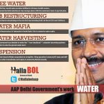 Restructure Delhi Jal Board. Revive rainwater harvesting. Control price rise. For all that and more: #KejriwalFirSe http://t.co/nrOhtjhSM4