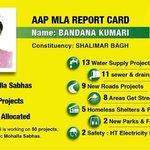 AAP MLA Bandana Kumaris report card of 4 crore MLA fund. This is why Delhites are saying #KejriwalFirSe http://t.co/A7NkGcvSrN