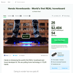 Hendo Hoverboard: Worlds first REAL hoverboard (pre-launch) http://t.co/07rruKGnvd via @bramk on @producthunt http://t.co/eLZvZf1MrN