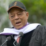 RT @SFSU: For good vibes, throwback to 2009, when Willie Mays received an honorary degree at SF State. Go @SFGiants!! #SFUnite http://t.co/TBK4sbWr9f
