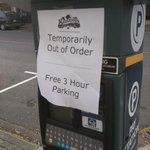 Free parking today for downtown #Kamloops. These meters havent exactly been headache free for the city! http://t.co/UErmGR2j91