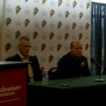 News conference announcing Mark Hunter as Dir of Player Development for the Toronto Maple Leafs. http://t.co/siWTOpqObu