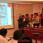 RT @novedadesdecamp: El disturbio tropical cruzaría el Estado de Campeche y saldría posiblemente en el Mar Caribe el próximo viernes. http://t.co/kYNq4vCGcq