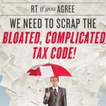 Under Obamas failed liberal policies, our tax code has grown to over 73,000 pages http://t.co/ALruvSYUTF