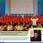 RT @InfomovilNews: @betoborge asistió al concierto en el que debutaron la Orquesta Sinfónica y Coro @EsperanzaAzteca Q. Roo. http://t.co/dodaDzMl01