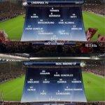 Aqui les dejo el recuerdo de las formaciones en el Liverpool 4 Real Madrid 0 de 2007 por la Champions League. http://t.co/yeTRpkLAvA