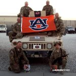 RT @AuburnTigers: The #Auburn Family thanks you for your service. #WarEagle and hurry home! http://t.co/3h92ATn73Y