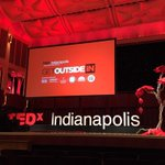 Does Ted Talk? Absolutely! Thanks @TEDxIND @TEDxIND @TEDx #FINLtakesTED & @MichelleLBaker for the tickets! http://t.co/0AFZ4CDHGW