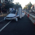 RT @marycjordan: Posts #americaanswers about to start. Check out the flying car in front of the studio http://t.co/X88cLzSGOp