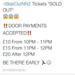 RT @PBEnt_: DOOR PAYMENTS ARE ACCEPTED FOR #BlackOutNN2 ???????????????????? ‼️THE EARLIER THE BETTER GUYS‼️ http://t.co/NbqRTLq36E
