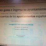 Aquí podéis ver lo que gastan e ingresan los ayuntamientos, también el de #Cartagena http://t.co/hhynMnxD97 http://t.co/N1UeKZfCDB