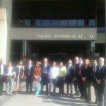 RT @DefensaPublicaV: Defensores Públicos Oficiales del Mercosur llegan a las instalaciones del TSJ http://t.co/ywXPhLAiel