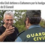 La Guardia Civil detiene a Cañamero por la huelga de basura de El Coronil https://t.co/oVfBTYNZOY http://t.co/sOV3Bn3s3P