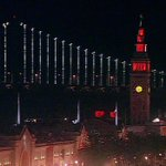 RT @abc7newsBayArea: PHOTO: The Ferry Building is lit up in #OrangeOctober for the #SFGiants. Email your pics to ureport@kgo-tv.com! http://t.co/yATdM6BC3P