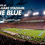 Wear BLUE to #Auburns game Saturday night at Jordan-Hare against S Carolina. Gameday Central: http://t.co/9rzbENDtXp http://t.co/Yg80Z30yYm