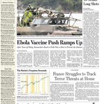 MoMath made the front page of the @WSJ! Read about last weeks Chaos Ball here: http://t.co/axWVY3hKWT http://t.co/TVnwCRLtsC