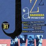 RT @tapia_maikel: Este es el cartel de #zgzjazz #jazz del 6 al 9 de noviembre @cervezasambar @AuditorioZGZ @zaragoza_es http://t.co/SanieFd4e3