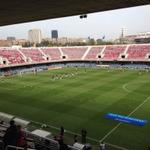 Warming-up #Ajax A1 in Mini Estadi @UEFAYouthLeague #baraja http://t.co/TTEzVzHdlF