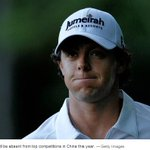 The worlds top golfer Rory McIlroy pulls out of two big tournaments in China http://t.co/z2iB3YnUNk http://t.co/JOeozai5TP