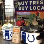 Wondering if you can have to many #colts crockpots #urelish the Cookoff before Kickoff @IndyCM http://t.co/WlY4TeQNXJ