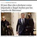 RT @carlosgomezgil: La IMPUTACIÓN de Acebes por financiación ilegal del PP vuelve a tocar de lleno el corazón de un partido CORRUPTO http://t.co/nDIfUqTVA5