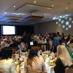 The room is full for #ingc14 luncheon http://t.co/XgGgw5K3tG