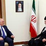 Haidar Al-Ebadi, the Iraqi Prime Minister met with the Leader minutes ago. #Iran #Iraq http://t.co/zqtO61Lqtw