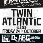 RT @STVGlasgow: Twin Atlantic take to the decks at @O2ABC this Friday night for @PropagandaGlsg! http://t.co/q9aiN9Lej4 http://t.co/ghK9smfOZe