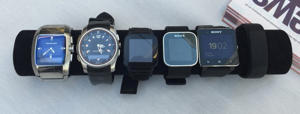 An @Sony (Sony Ericsson) smartwatch and wearables history lesson. Just need the SmartWatch 3 and SmartBand Talk now:) http://t.co/J37xI4DnqF