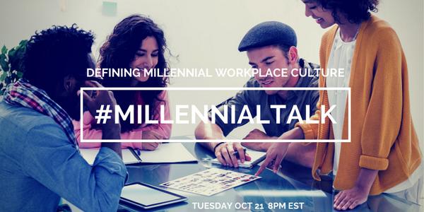 TONIGHT- Set ur Calendar Reminder- #MillennialTalk 8pmEST - Defining Workplace Culture w/ @nmillerbooks from @buffer http://t.co/c8uHf4X8Xr