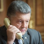 RT @poroshenko: Had a telephone conversation with Russian President. A regime of ceasefire and artillery silence needs to be secured. http://t.co/6OBjs3BaeO