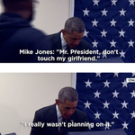 "Chicago Man Tells Obama: ""Don't Touch My Girlfriend"" http://t.co/xSFU6SniIy http://t.co/xBS8F8YnyD"