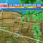 Steadiest rain moving east of #ROC. Occasional showers and drizzle continue through tonight. http://t.co/DRu59pTIRk http://t.co/jzEQp7xrRc