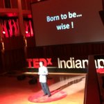 We are born to be wise! @Jfsuarez @TEDxIND #tedxind #beautyfromtherooftop http://t.co/wJFdmT7Qsr