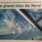 La future oeuvre dart couvrira 80% du mur du hall dentrée. #villequebec #assnat #Labeaume #Hamad #polqc http://t.co/BJu4ol1noQ