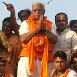 Manohar Lal Khattar to be next #Haryana CM, swearing-in on Oct 26. http://t.co/tvWmxFHf8z