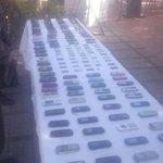 Estos celulares fueron decomisados durante una requisa hecha por la @PoliciaStaMarta en la Cárcel de #SantaMarta http://t.co/f2pcznfzrE