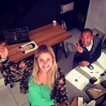 """RT @TheoAbsolon: A selfie a day! :-) """"@bovinebrewery: Thanks @selfiestickssa! So excited to play with my new toy! #workselfie @TheoA http://t.co/niQJnk87RD"""""""