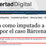 Libertad Digital abre su web con lo de Acebes y la compra de acciones de LD. Sinceramente, chapeau. http://t.co/H7CDJSzYsn